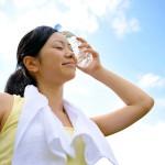 汗をかく前と汗をかいた後にアルコールティッシュで痒みを予防軽減